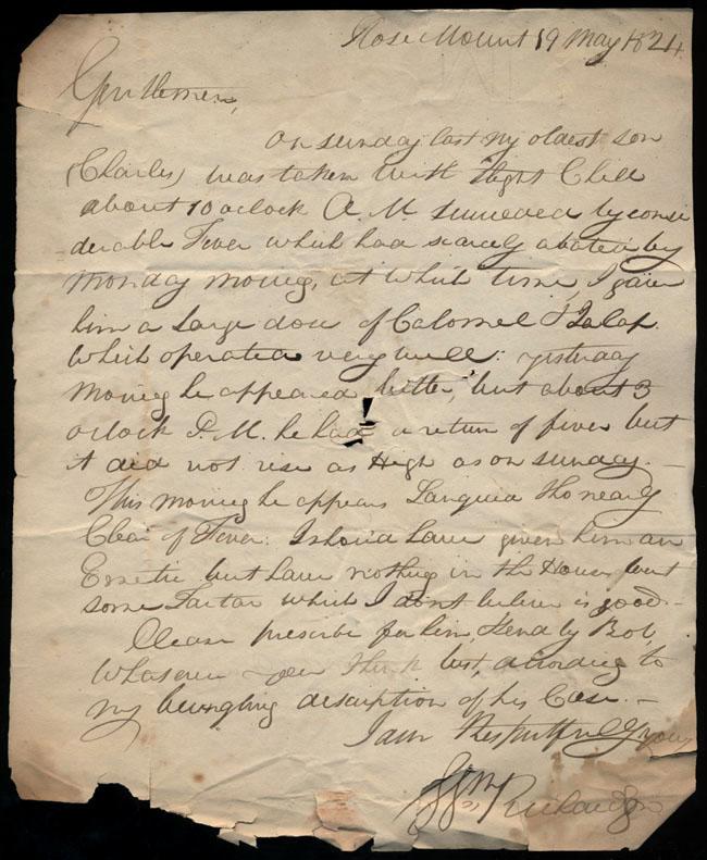 Box1/1824Carmichael_Correspondence/1824May19/recto