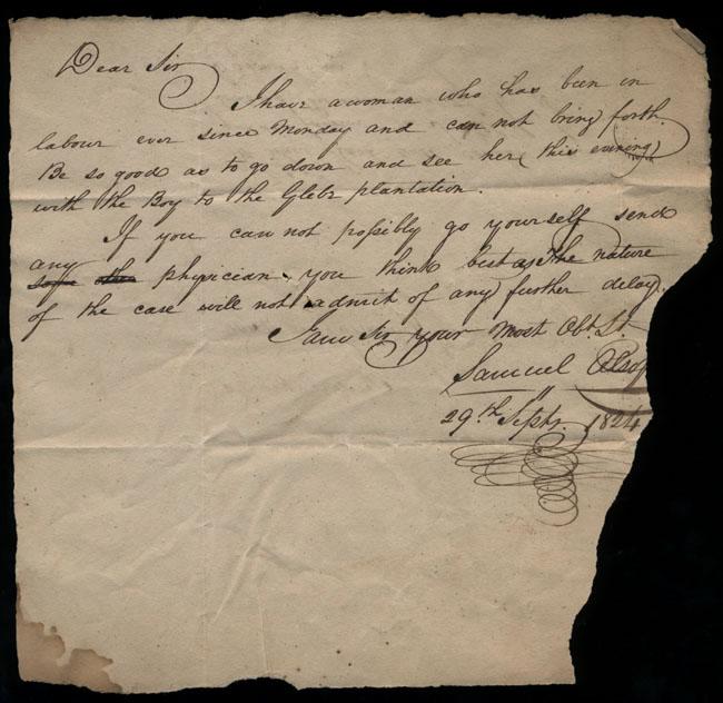 Box1/1824Carmichael_Correspondence/1824Sep29_Alsop/recto