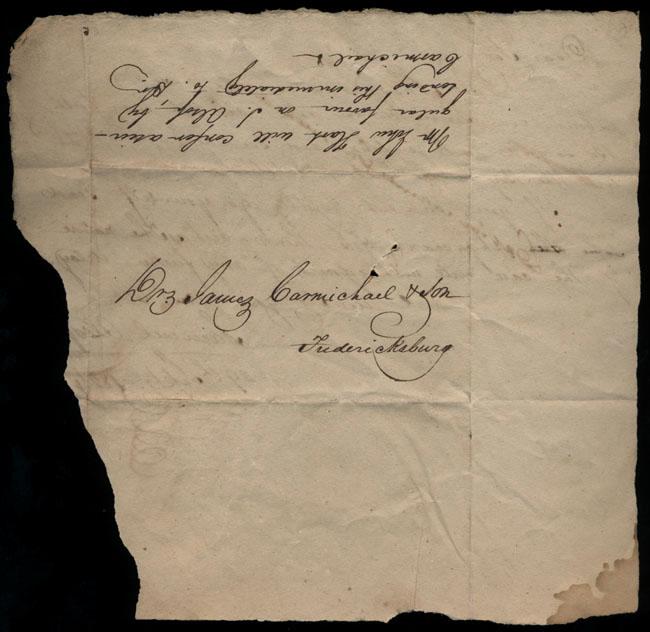 Box1/1824Carmichael_Correspondence/1824Sep29_Alsop/verso