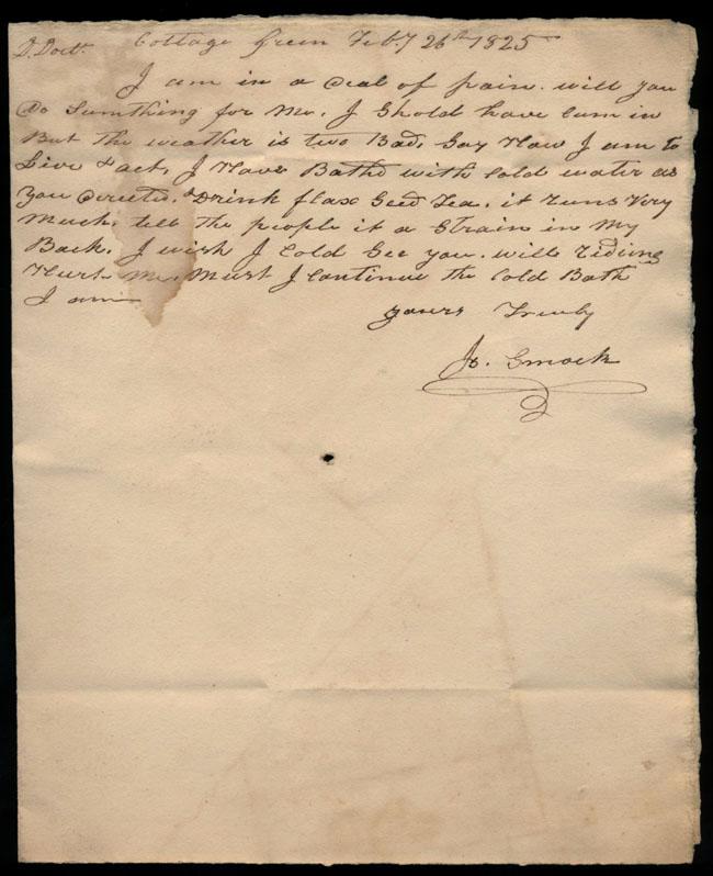 Box2/1825Carmichael_Correspondence/1825Feb26_Smock/pg1