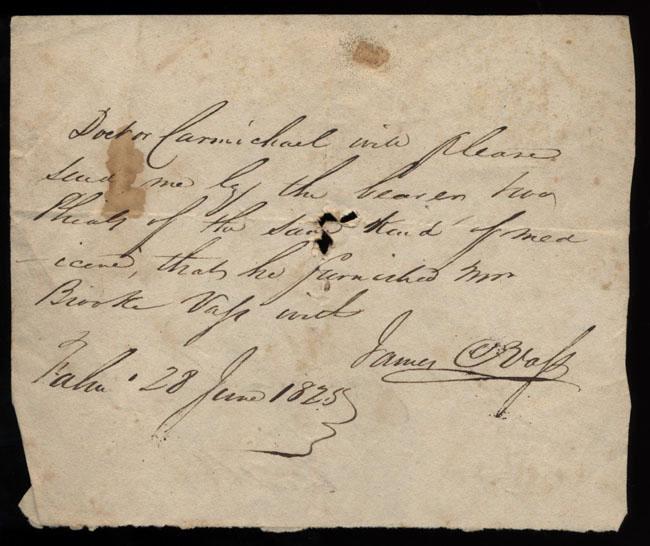 Box2/1825Carmichael_Correspondence/1825Jun28/recto