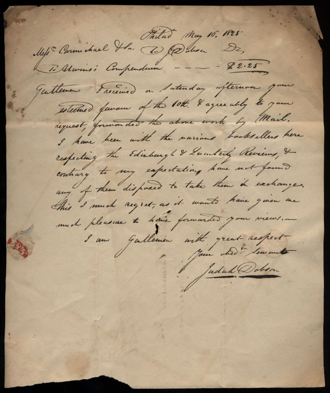 Box2/1825Carmichael_Correspondence/1825May16/recto