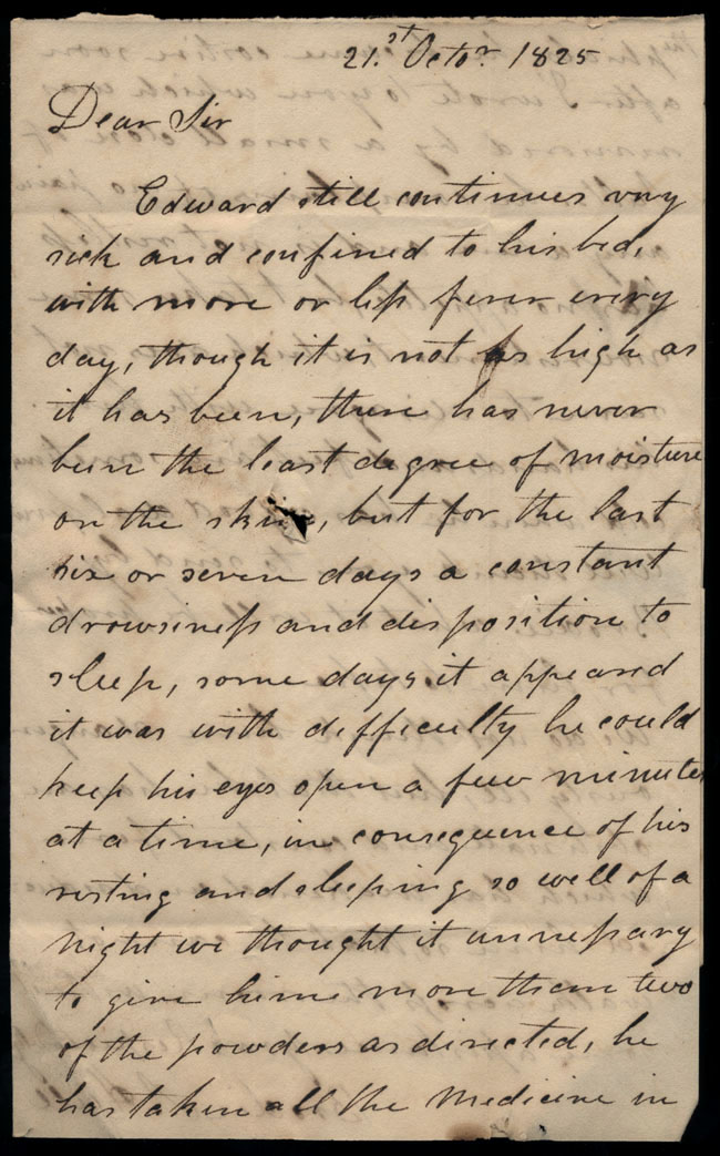 Box2/1825Carmichael_Correspondence/1825Oct21/pg1