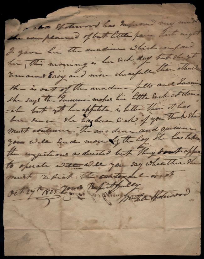 Box2/1825Carmichael_Correspondence/1825Oct27/recto
