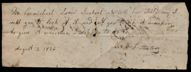 Box2/1826Carmichael_Correspondence/1826Aug02/recto