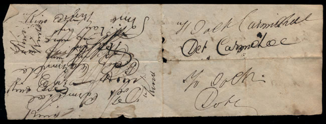 Box2/1826Carmichael_Correspondence/1826Aug02/verso
