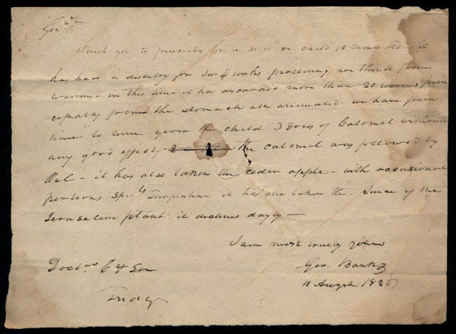 Box2/1826Carmichael_Correspondence/1826Aug10/recto