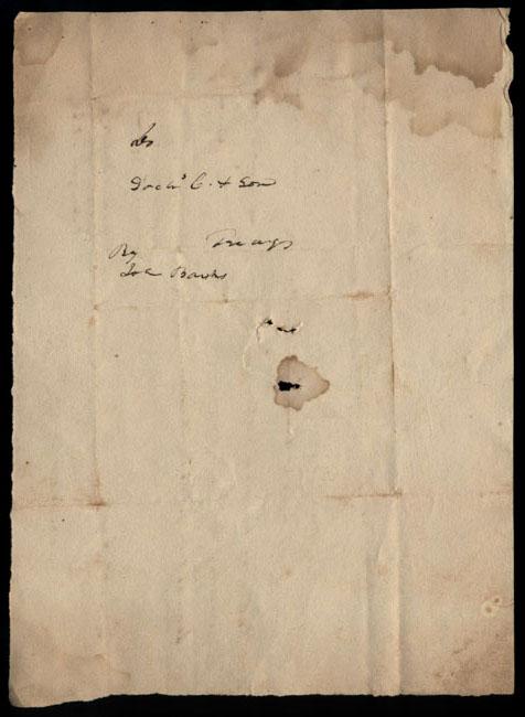 Box2/1826Carmichael_Correspondence/1826Aug10/verso