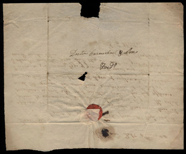 Box2/1826Carmichael_Correspondence/1826Feb06/verso