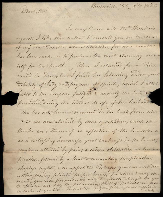 Box2/1826Carmichael_Correspondence/1826Feb09/recto