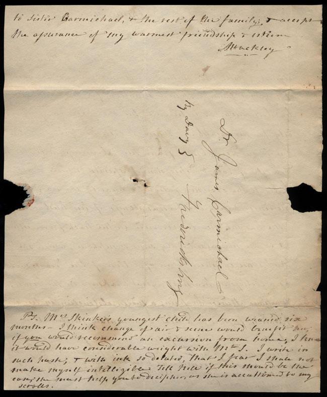 Box2/1826Carmichael_Correspondence/1826Feb09/verso