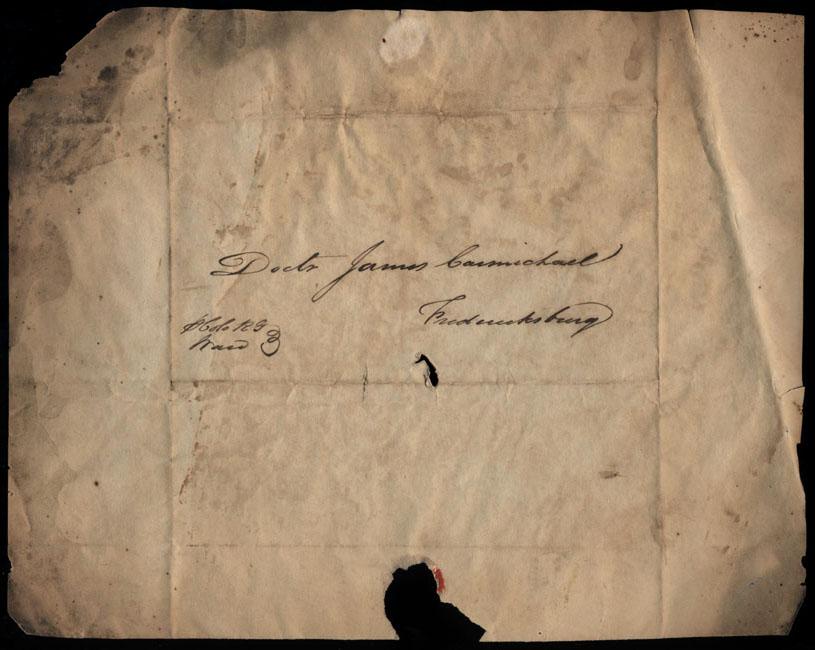 Box2/1826Carmichael_Correspondence/1826Feb28_Ward/env_recto