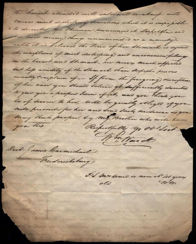 Box2/1826Carmichael_Correspondence/1826Feb28_Ward/verso