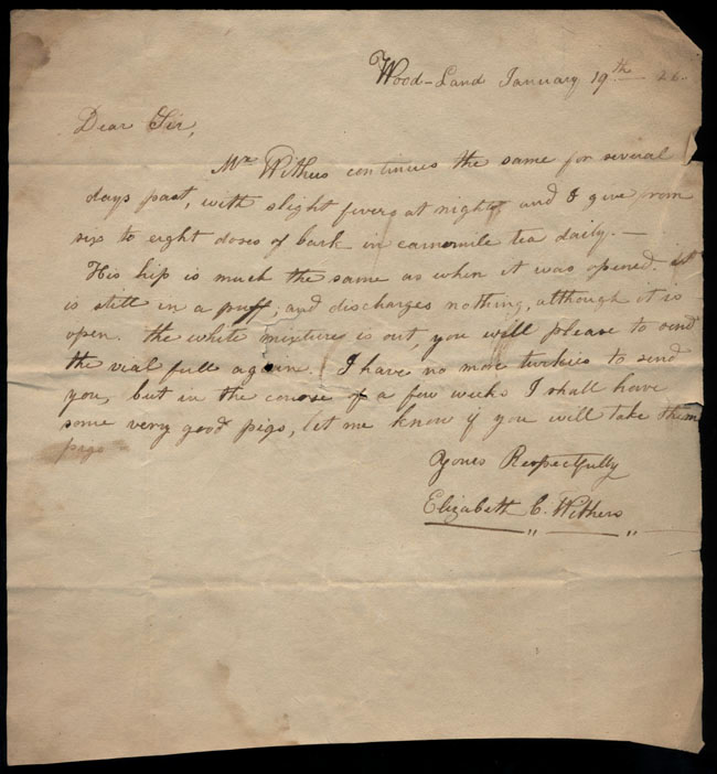 Box2/1826Carmichael_Correspondence/1826Jan19/recto