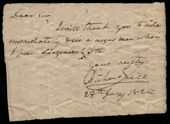 Box2/1826Carmichael_Correspondence/1826Jan28/recto