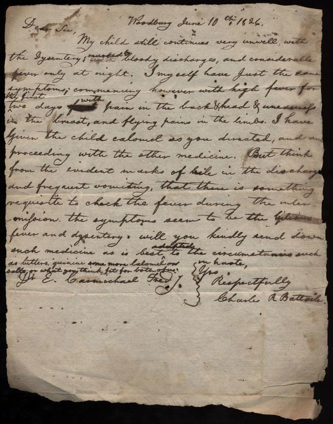 Box2/1826Carmichael_Correspondence/1826Jun10/recto