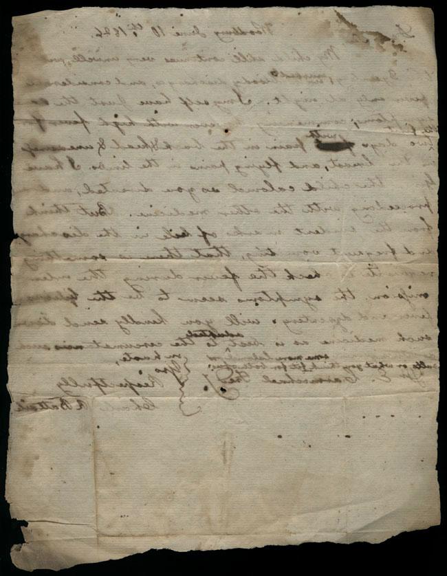 Box2/1826Carmichael_Correspondence/1826Jun10/verso