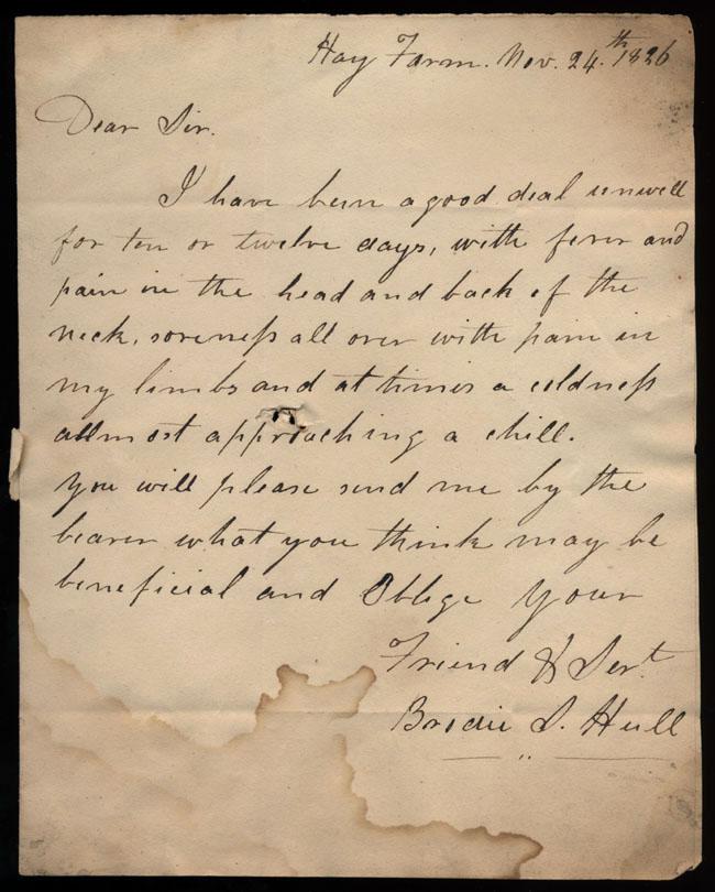 Box2/1826Carmichael_Correspondence/1826Nov24/pg1