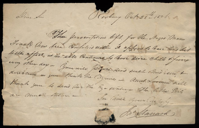 Box2/1826Carmichael_Correspondence/1826Oct28/recto