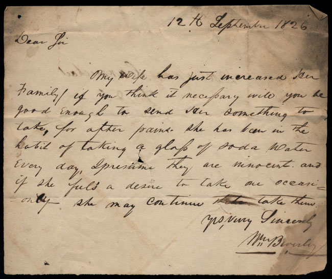 Box2/1826Carmichael_Correspondence/1826Sep12/recto