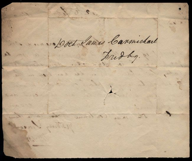 Box2/1826Carmichael_Correspondence/1826Sep12/verso