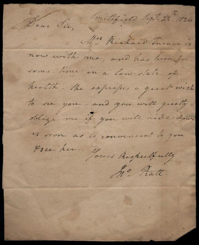 Box2/1826Carmichael_Correspondence/1826Sep28/recto
