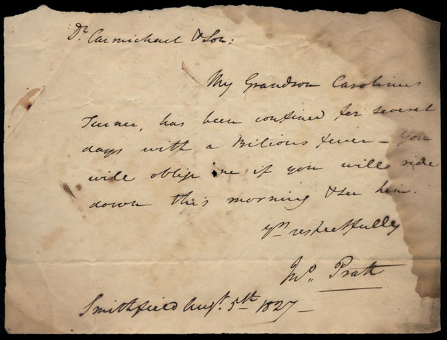 Box2/1827Carmichael_Correspondence/1827Aug05/recto