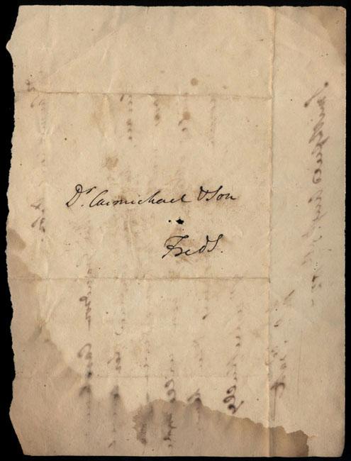 Box2/1827Carmichael_Correspondence/1827Aug05/verso