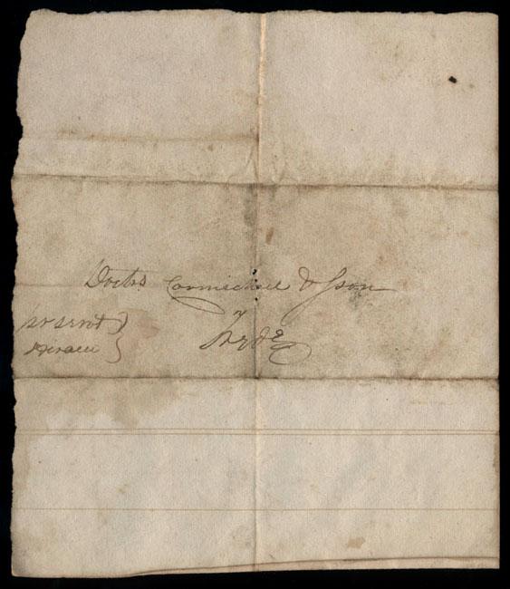 Box2/1827Carmichael_Correspondence/1827Feb16_Spooner/verso