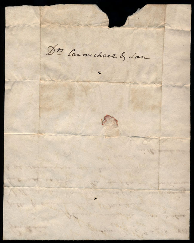 Box2/1827Carmichael_Correspondence/1827Feb28/verso