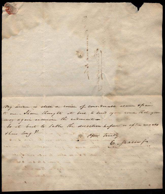 Box2/1827Carmichael_Correspondence/1827Jan06/verso