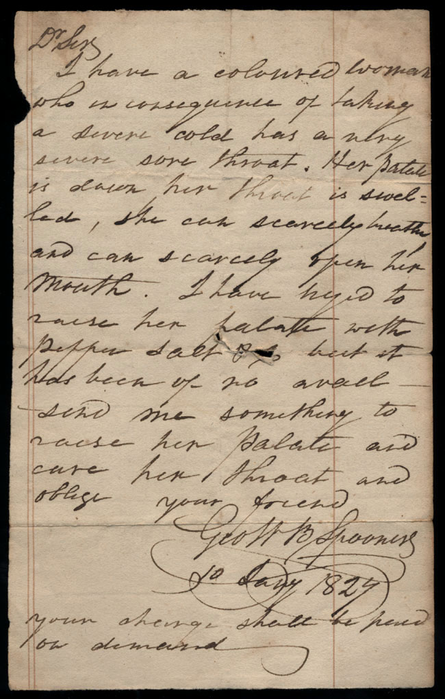 Box2/1827Carmichael_Correspondence/1827Jan10/recto