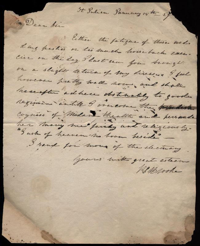 Box2/1827Carmichael_Correspondence/1827Jan15_Brooke/recto