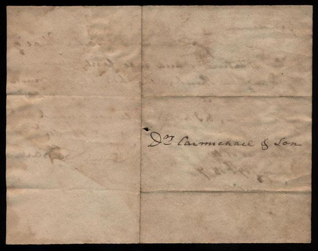 Box2/1827Carmichael_Correspondence/1827Jan17/verso