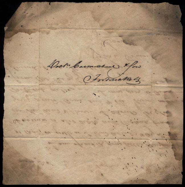 Box2/1827Carmichael_Correspondence/1827Jun27/verso