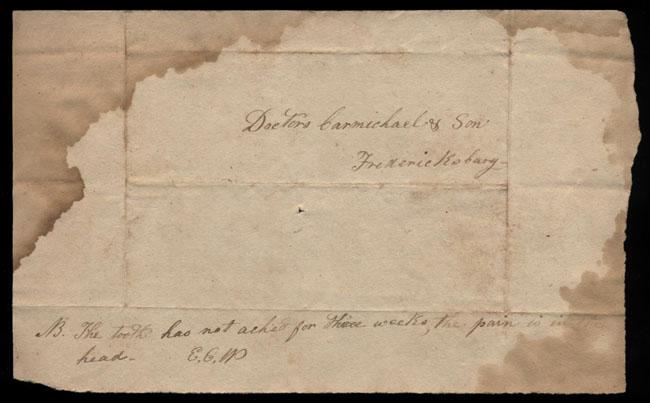 Box2/1827Carmichael_Correspondence/1827Mar13/verso