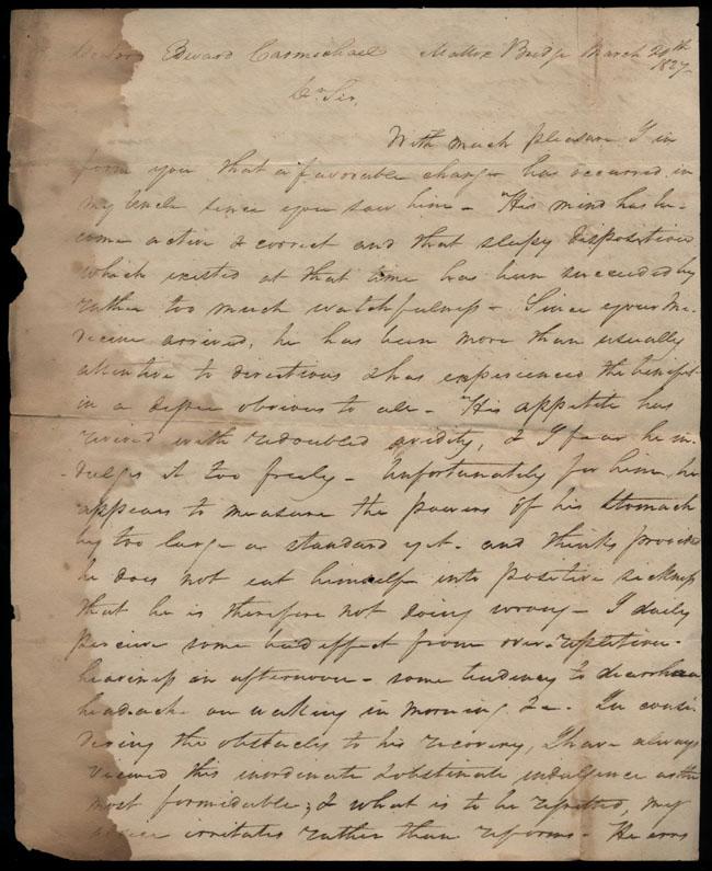 Box2/1827Carmichael_Correspondence/1827Mar20/recto