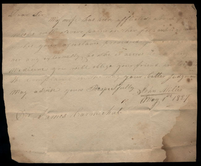 Box2/1827Carmichael_Correspondence/1827May01/recto