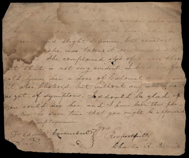 Box2/1827Carmichael_Correspondence/1827Nov16/recto
