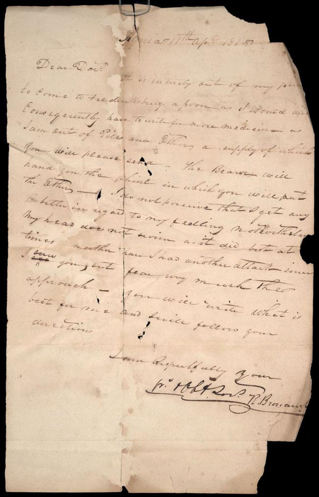 Box2/1828_1830Carmichael_Correspondence/1828Apr11/recto