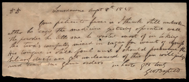 Box2/1828_1830Carmichael_Correspondence/1828Aug08/recto