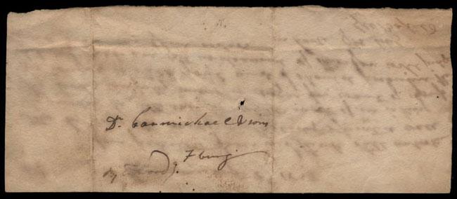 Box2/1828_1830Carmichael_Correspondence/1828Aug08/verso