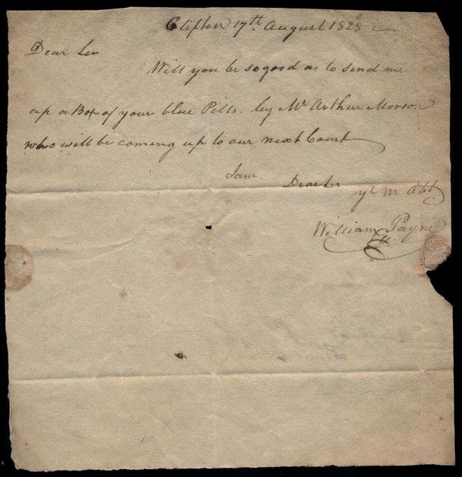 Box2/1828_1830Carmichael_Correspondence/1828Aug17/recto