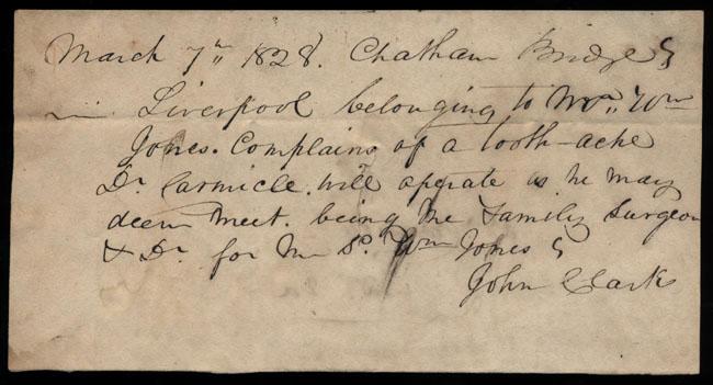 Box2/1828_1830Carmichael_Correspondence/1828Mar07/recto