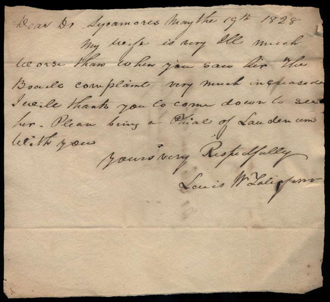 Box2/1828_1830Carmichael_Correspondence/1828May19/recto