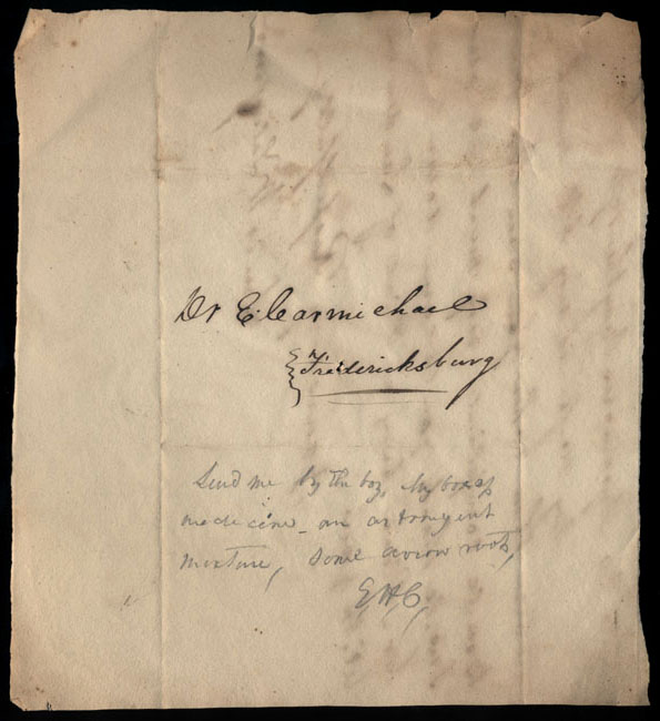Box2/1828_1830Carmichael_Correspondence/1828May19/verso