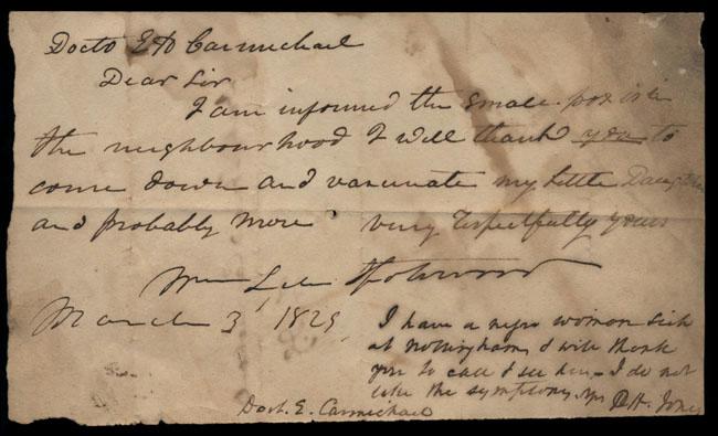 Box2/1828_1830Carmichael_Correspondence/1829Mar03/recto