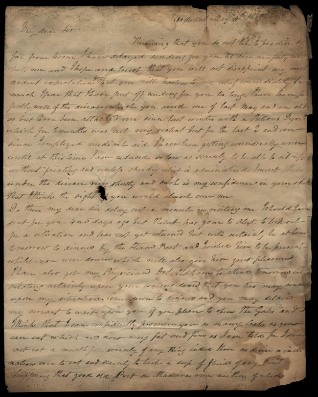 Box2/1828_1830Carmichael_Correspondence/1830May04/recto
