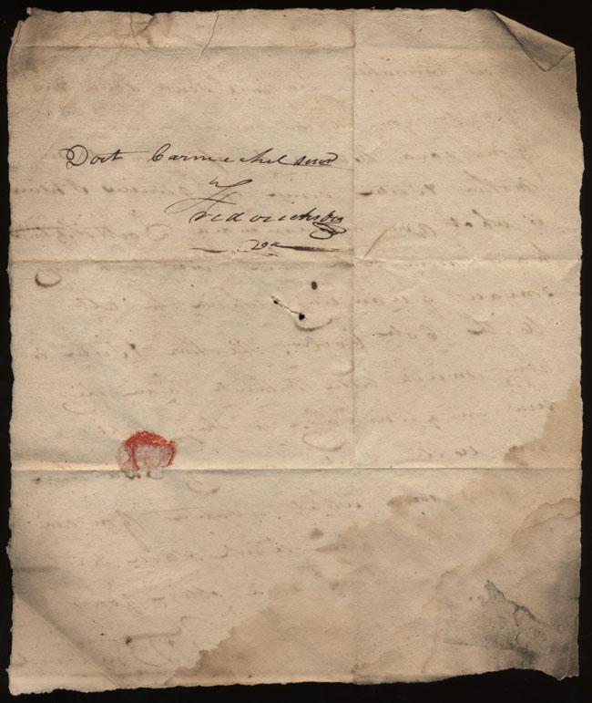 Box2/nd2Carmichael_Correspondence/nd_Bronaugh/verso