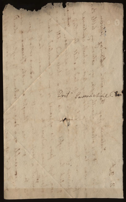 Box2/nd2Carmichael_Correspondence/nd_Gregory1/verso